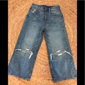 Levi's Wide Leg Crop Jean 26